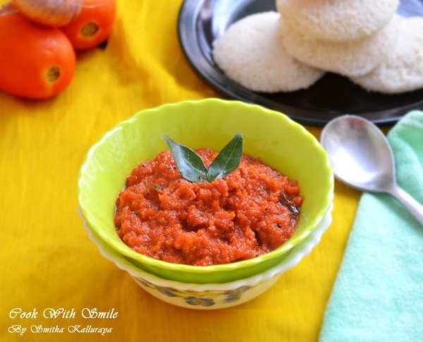 how to do tomato chutney