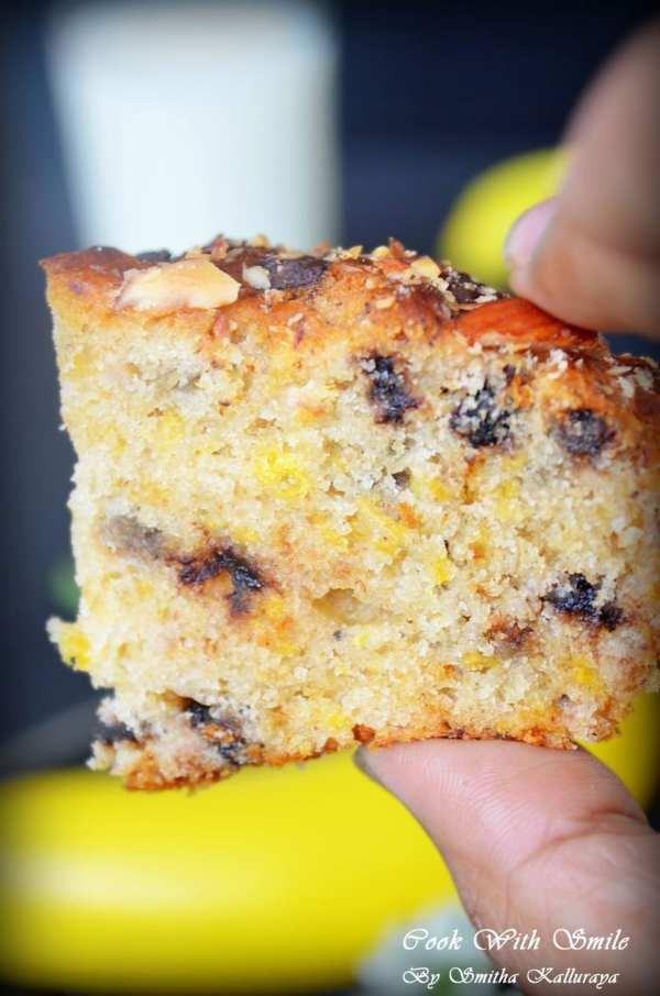 Butterless Banana Cake