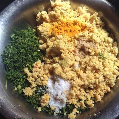 make lentil dumplings