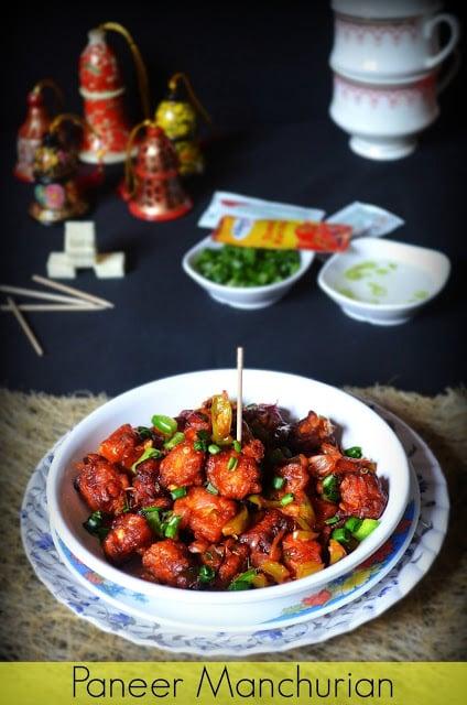 Dry paneer manchurian recipe chilli paneer recipe restuarant style chilli paneer forumfinder Images