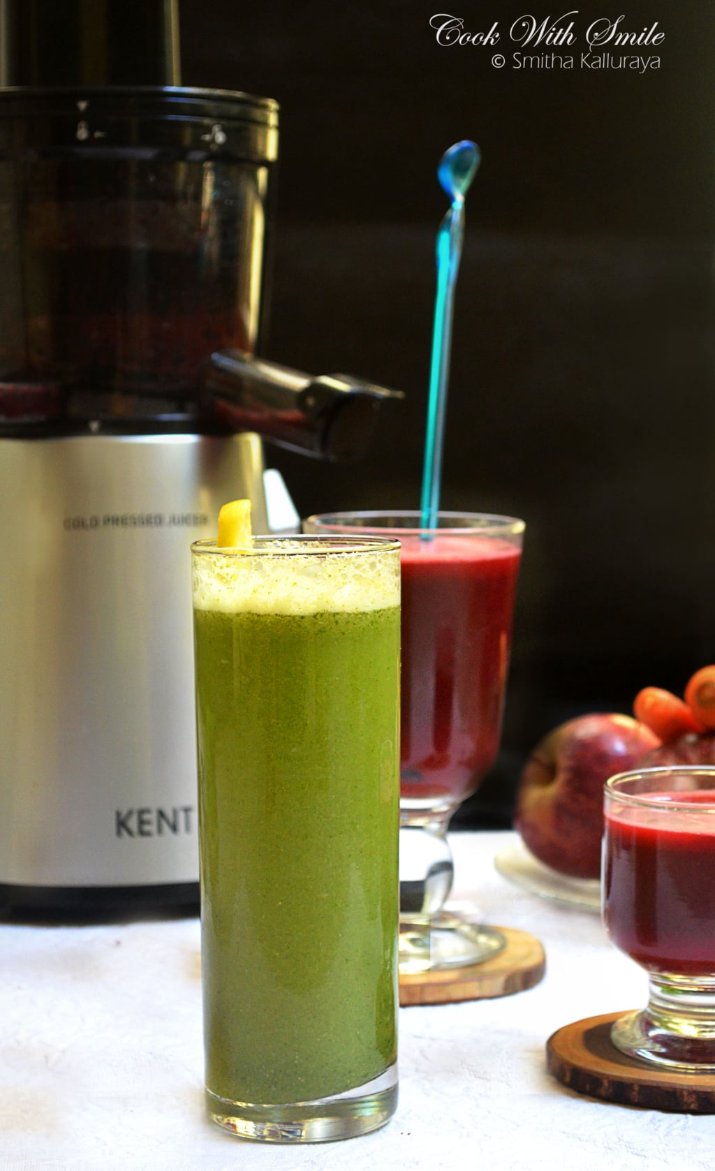 how is Kent cold pressed juicer