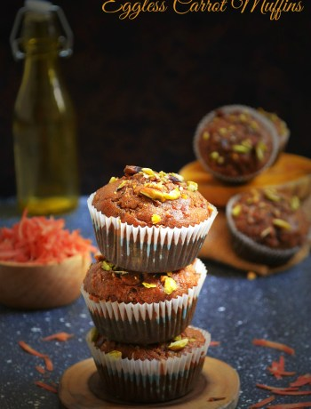 EGGLESS CARROT MUFFIN