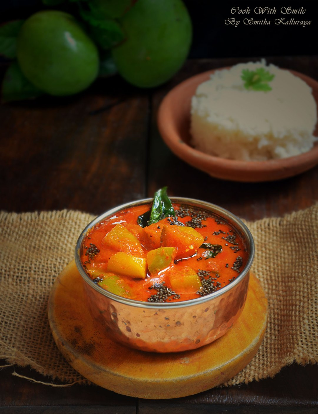 Raw mango curry
