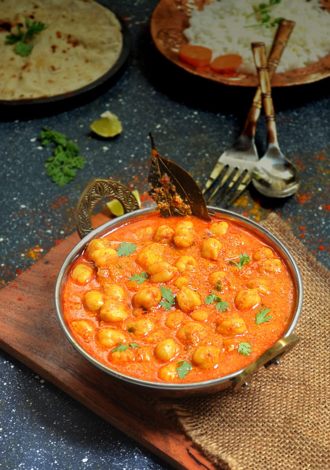 south indian channa curry