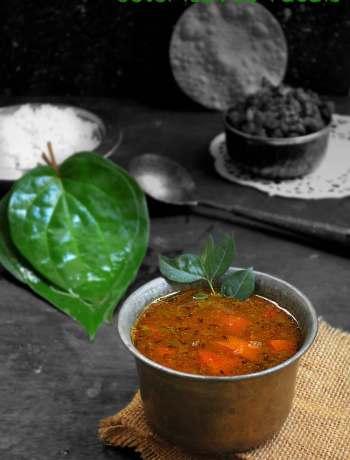 betel leaves rasam recipe