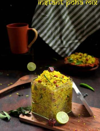 INTANT POHA MIX RECIPE