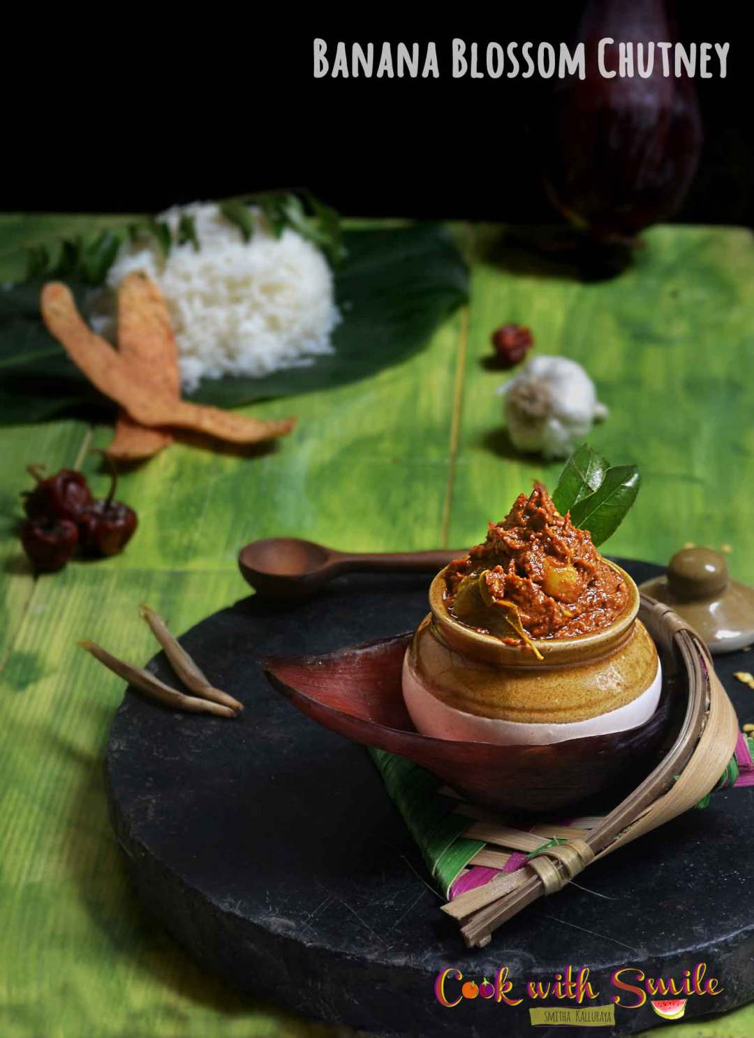 BANANA FLOWER CHUTNEY