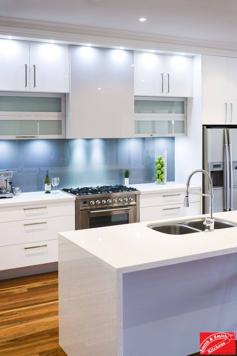 Modern White Kitchen | Modern White Kitchen Pics | Smith ... on Modern Kitchens  id=50498