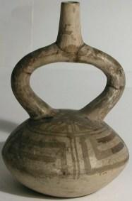 Moche or Chimu Flask, Peru