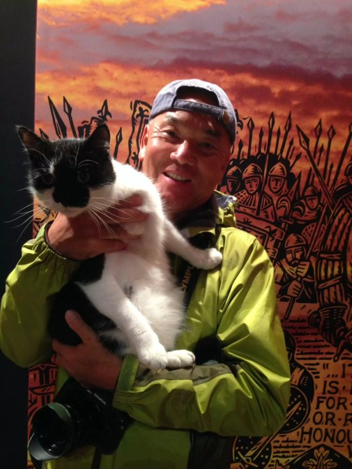 Mr Iwago Japanese TV programme Mr Iwago's Cat Travelogue