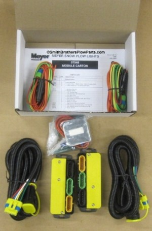 07548 Meyer Nite Saber Headlight Modules (07347) Kit