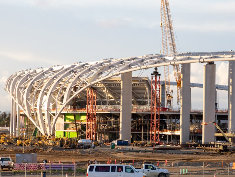 The Los Angeles Stadium At Hollywood Park Engineering