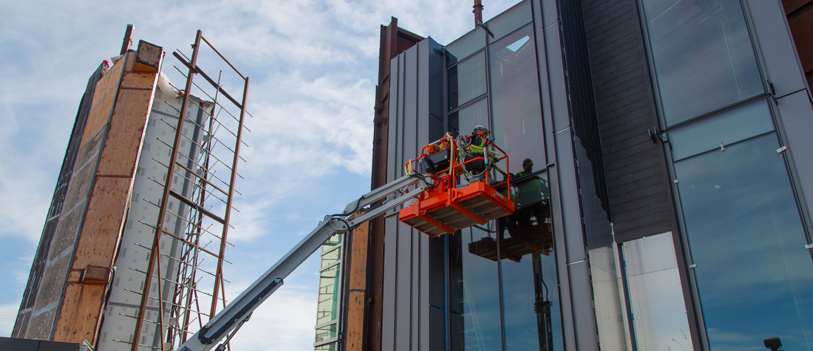 Building safety curtain wall testing