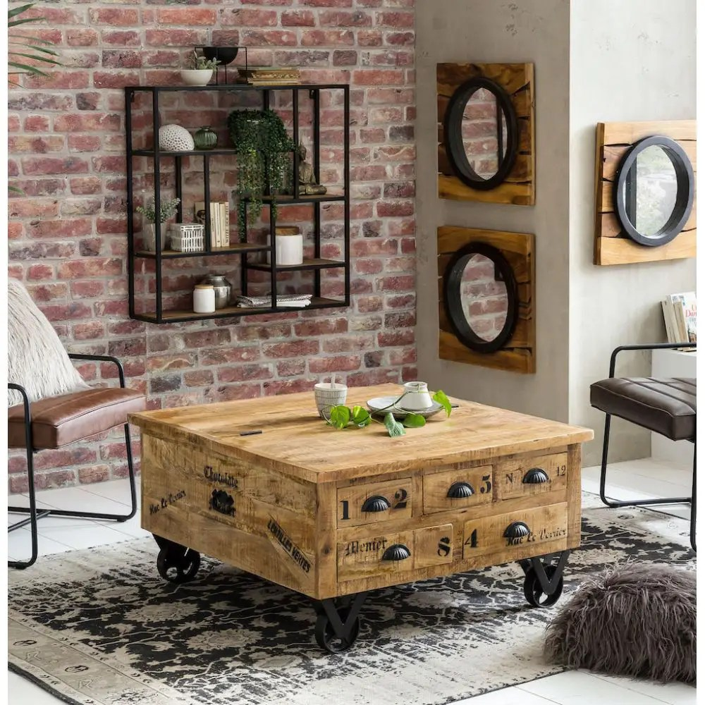 lift top coffee table trunk