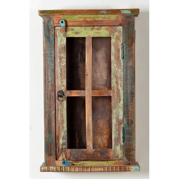 Reclaimed Wood Wall Cabinet Bathroom Or Kitchen