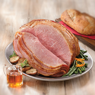 Sweet Cure Spiral Cut Hams Brown Sugar Cured Spiral