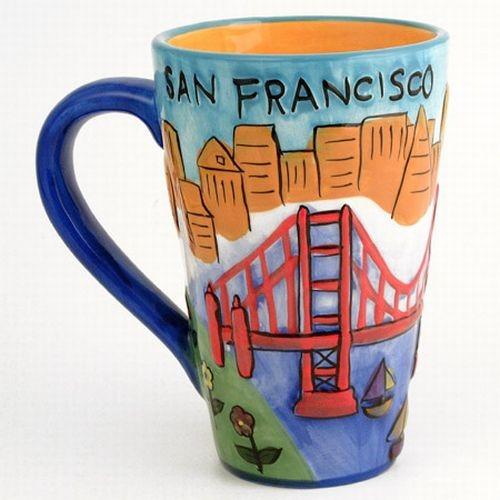 Smith Novelty San Francisco Souvenir Mug