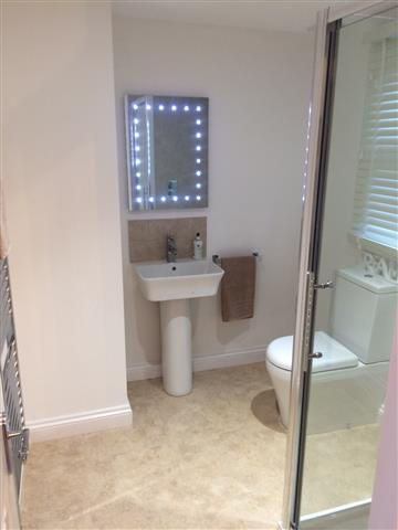 loft conversion bathroom examples