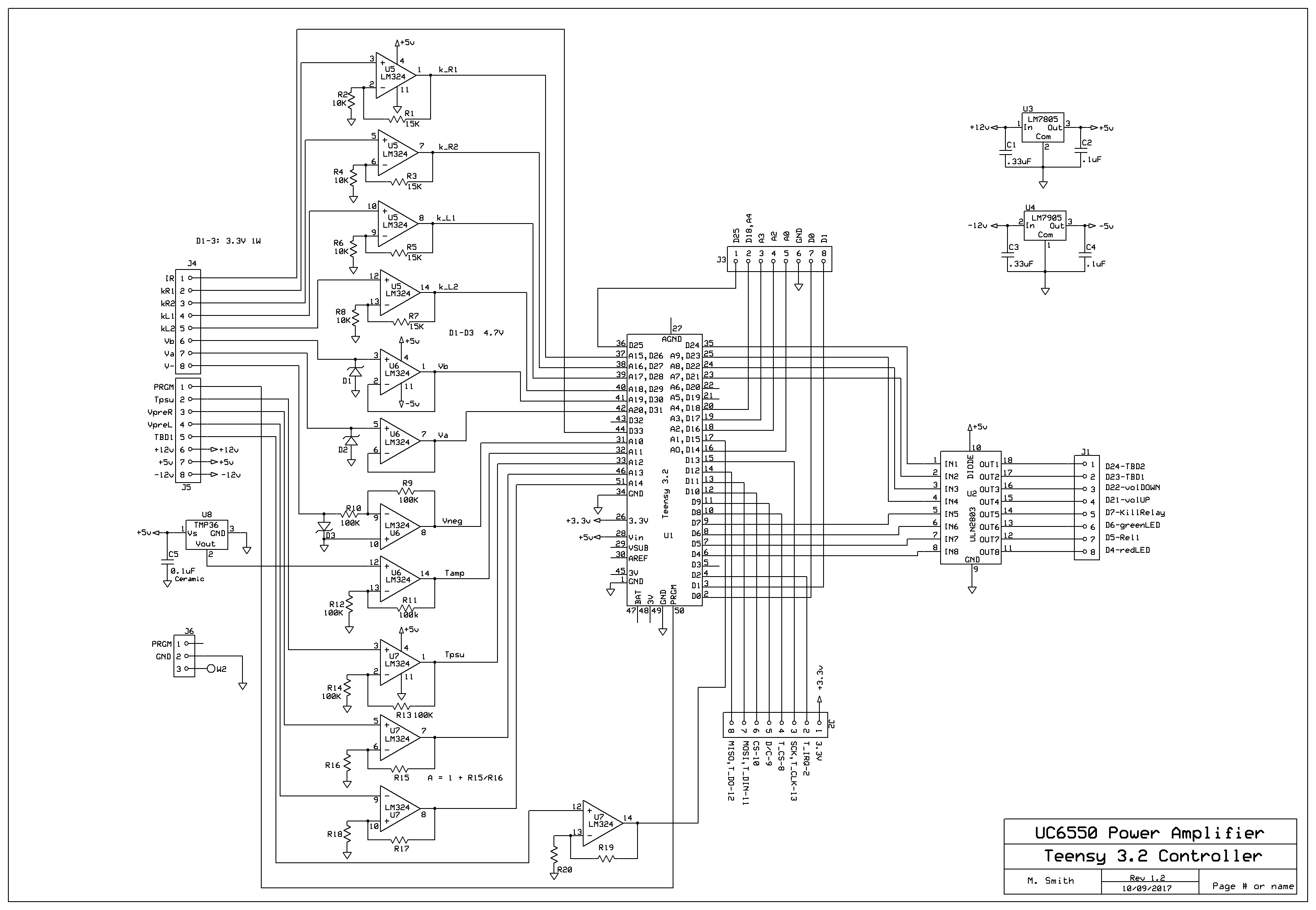 Some Of The Inputs From The Amp Are 400 500v I Really Don