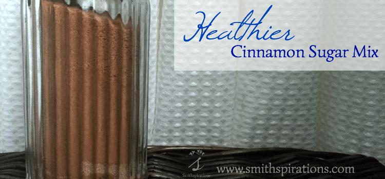 Healthier Cinnamon Sugar Mix 2