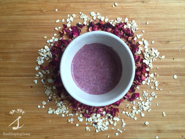 Soothing Rose Facial Mask 3. Rose petals, oats, and rhassoul clay combine to make this wonderfully soothing and beautifully scented facial mask. Seven other rose petal recipes are included for more ideas on using this herb.