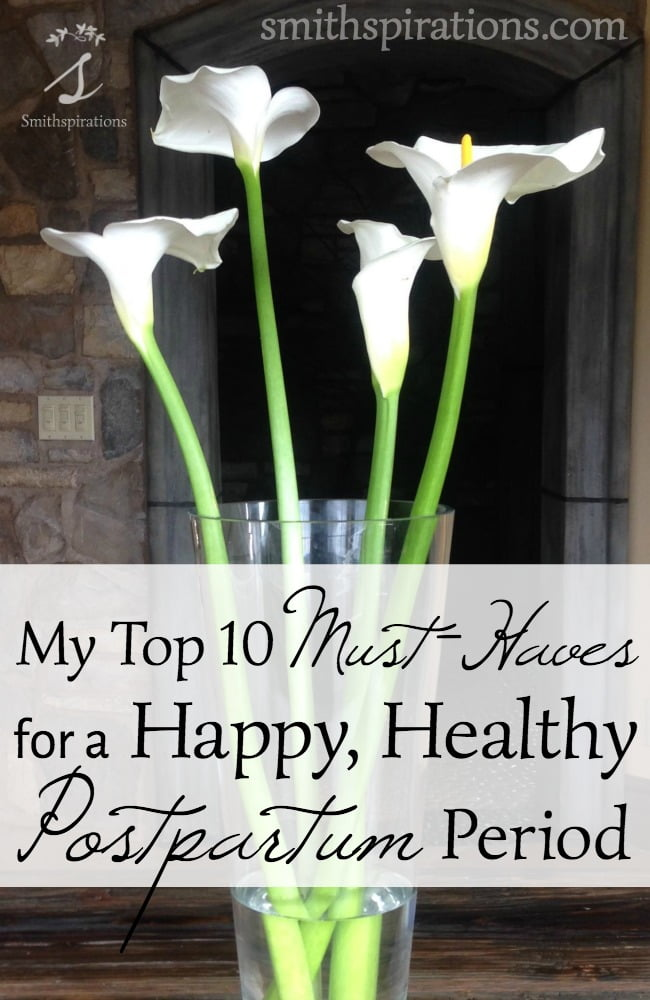 10 must haves for a happy healthy postpartum period - Nine must have things for a couple to be happy ...