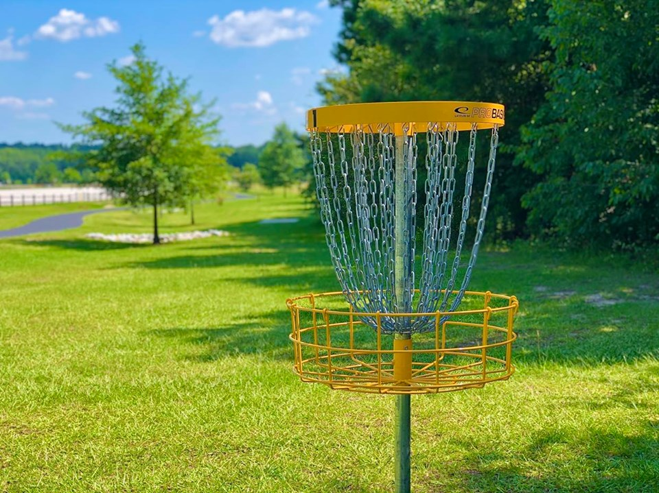 Smiths Station Disc Golf Course Now Open At The Smiths Station Sports Complex City Of Smiths Station Al
