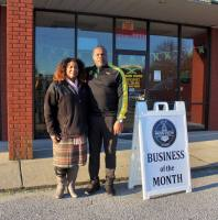 owned and operated by the husband-and-wife duo of Michael and Lasharn Anderson and barbershop by experienced barber Johnny Matthews