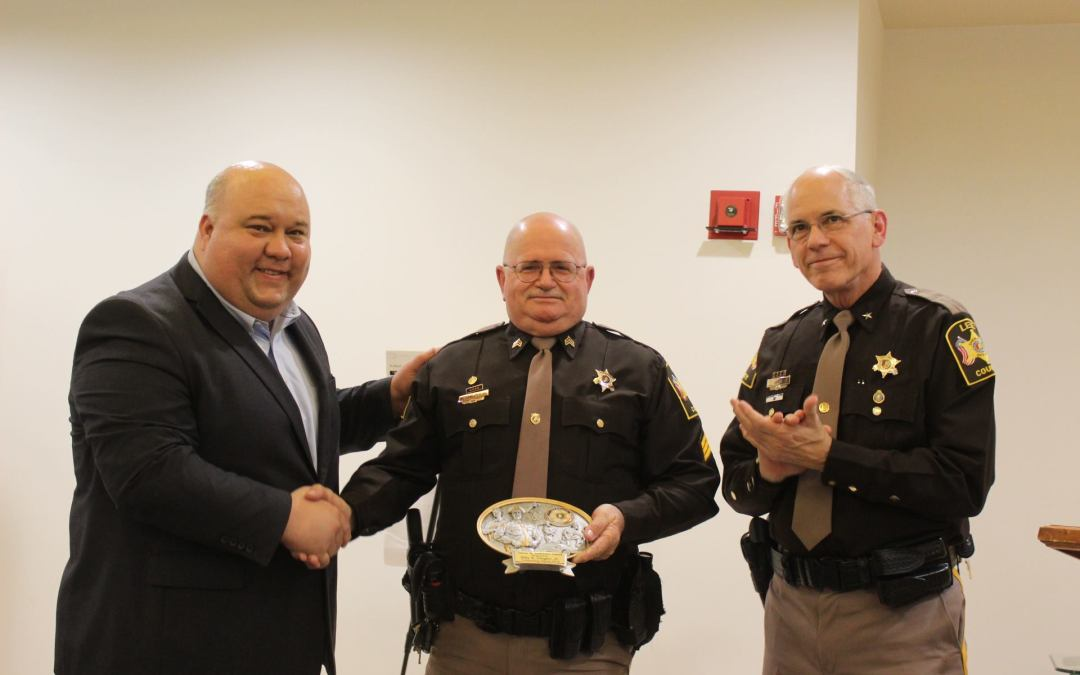 Sgt. Billy Dingler Jr. presented annual James Anderson Award