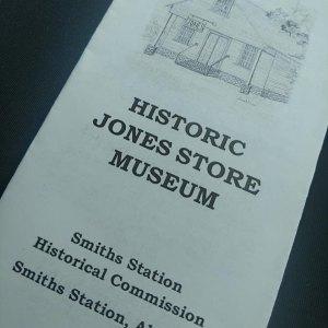 jones store museum brochure