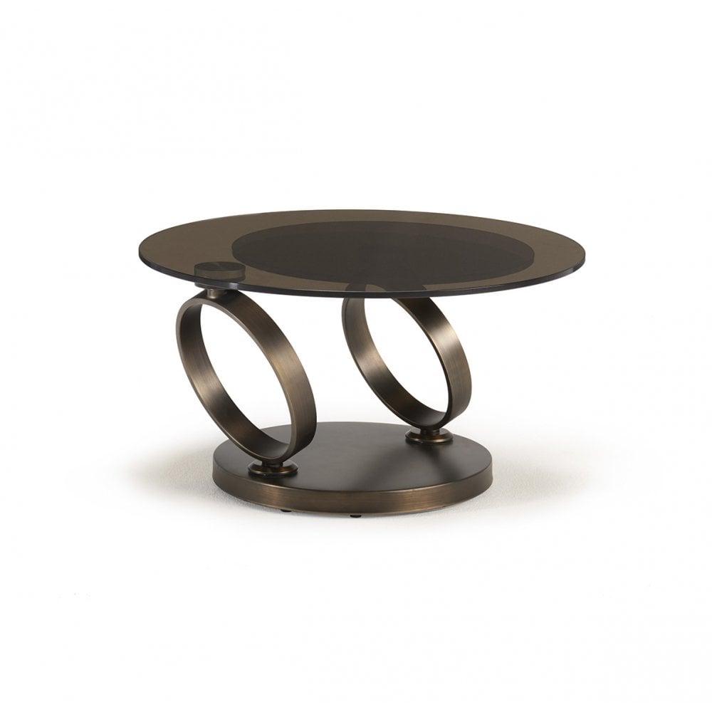 kesterport rose gold extending glass coffee table bronze glass rose gold frame