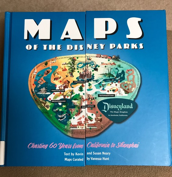 Book review maps of the disney parks smittenwithmickey maps gumiabroncs Image collections