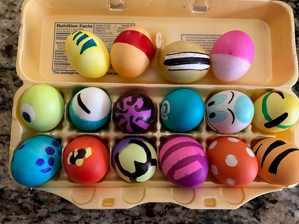 Disney Character Easter Egg Designs