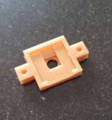 op de 3D-printer geklust