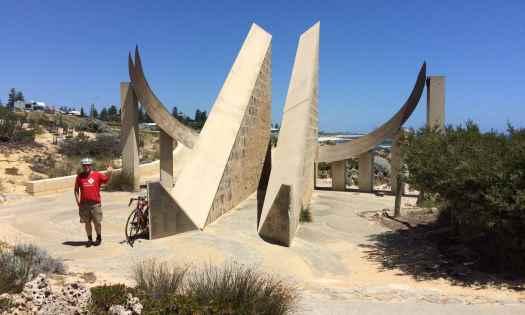 Scale of Cottesloe (Perth Australia) sundial