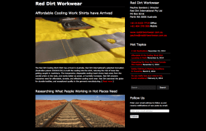 Red Dirt Workwear news and blog