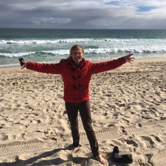 Shauna McGee Kinney at Brighton Beach (Scarborough) Perth - Western Australia
