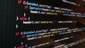 Computer code, if then statements, stock art