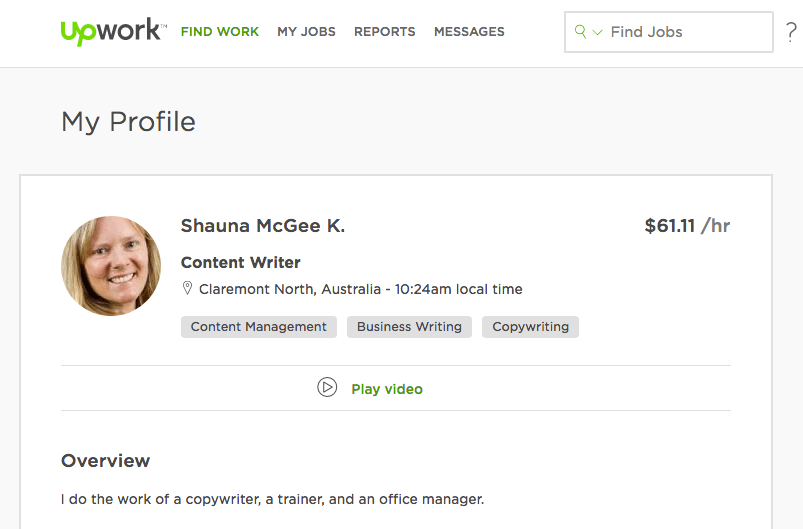 UpWork marketplace as an alternative to workflow software