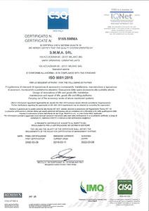 Installazione elevatori secondo norme ISO 9001:2008