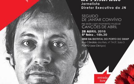 Justiça à Conversa com Domingos de Andrade.