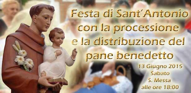 Festa di Sant'Antonio di Padua 2015