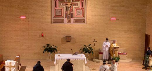 La nostra comunità riunita nella celebrazione della Via Crucis e di San Giuseppe
