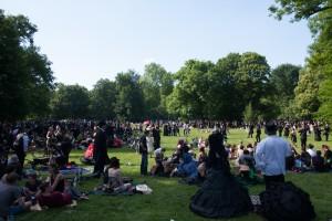 Viktorianisches Picknick im Clara-Zetkin-Park