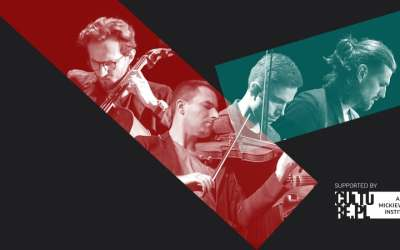The first American tour of the Atom String Quartet