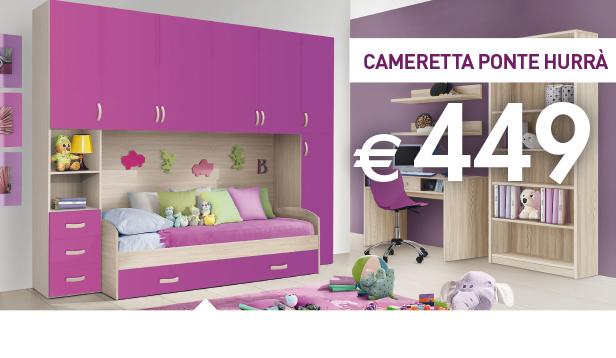 Camera completa letto con contenitore*. Mercatone Uno Camerette 2017 Catalogo Prezzi E Offerte Smodatamente