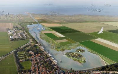 Minister Schouten makes ultimate attempt for Holwerd aan Zee