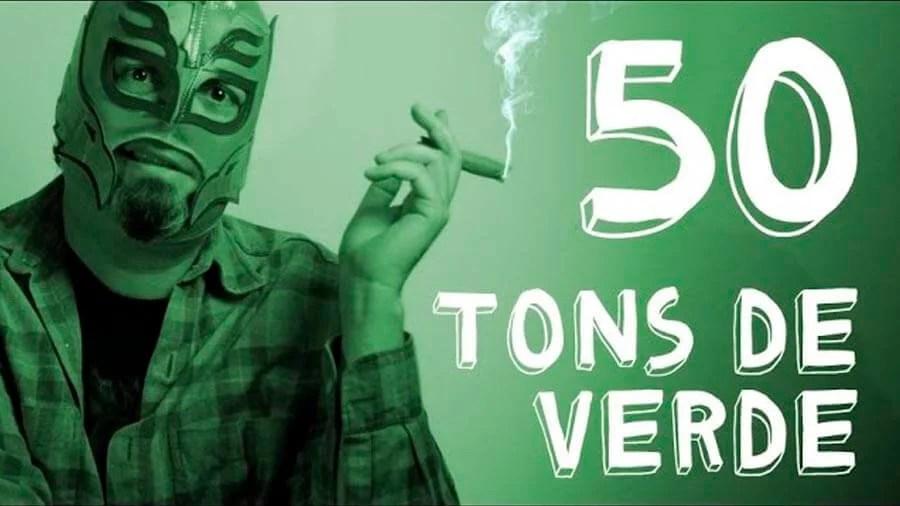molucontos 50 tons verde smoke buddies 50 Tons de Verde
