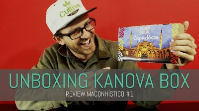 CAPA KANOVA BOX UNBOXING KANOVA BOX | REVIEW MACONHÍSTICO #1