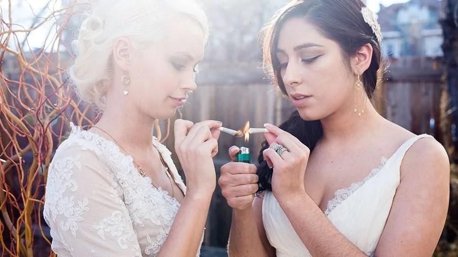 industria americana de casamentos maconha Indústria americana de casamentos tem novo filão: a maconha